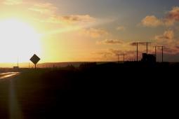 Sunset in Mayo. Copyright Maria Delaney