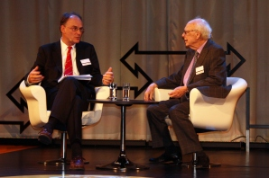Jim Watson at the Nobel Week Dialogue 2012. Copyright Maria Delaney