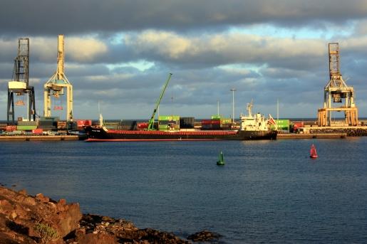 Shipyard, Lanzarote. Copyright Maria Delaney