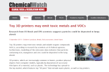 3D Printers - Chemical Watch